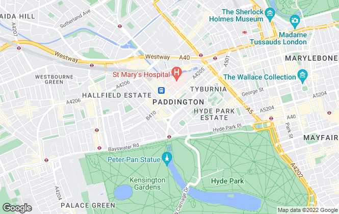 Map for Kenwoods Estates, London - Lettings