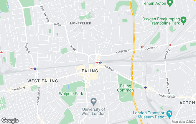 Map for Dexters, Ealing