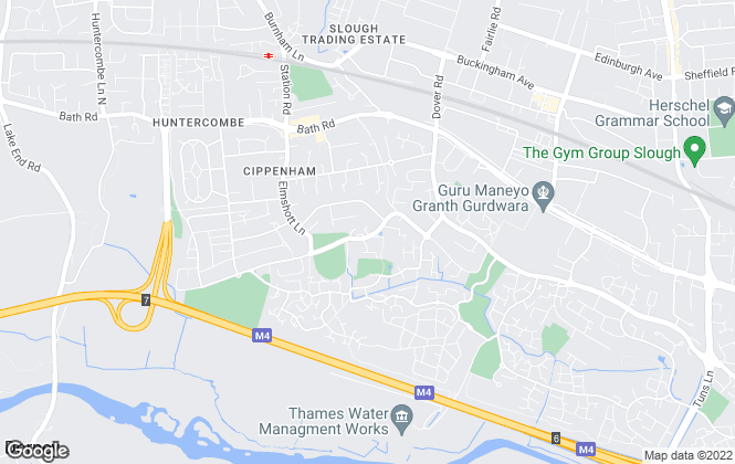 Map for Jackson O'Rourke, Cippenham
