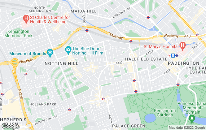 Map for Westbourne London, London