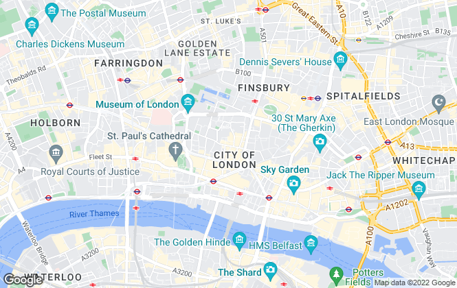 Map for Capita, London - Central
