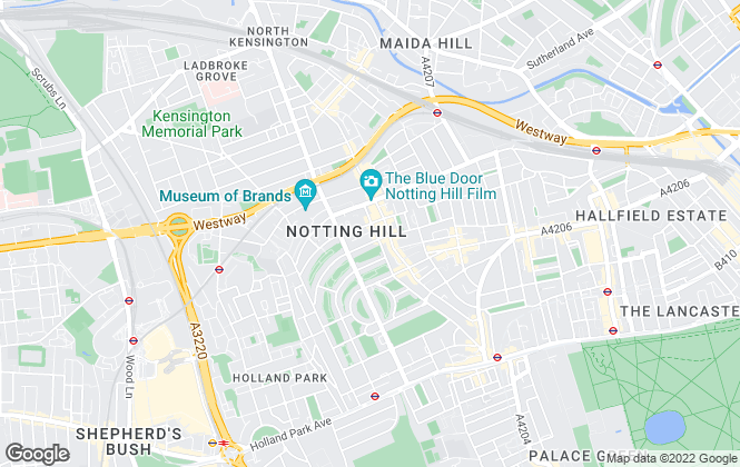 Map for Domus Nova, Notting Hill