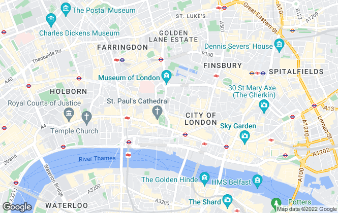 Map for Ingleby Trice, London