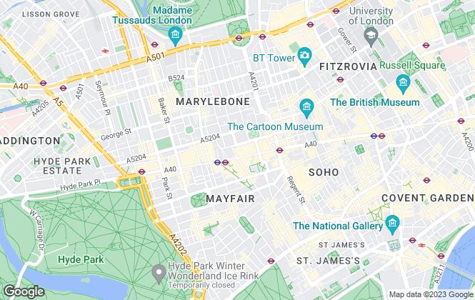 Map for Carter Jonas, New Homes London