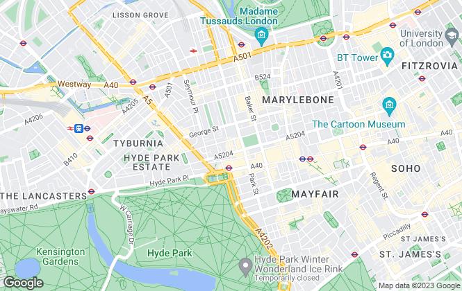 Map for Jaffray Estates, London
