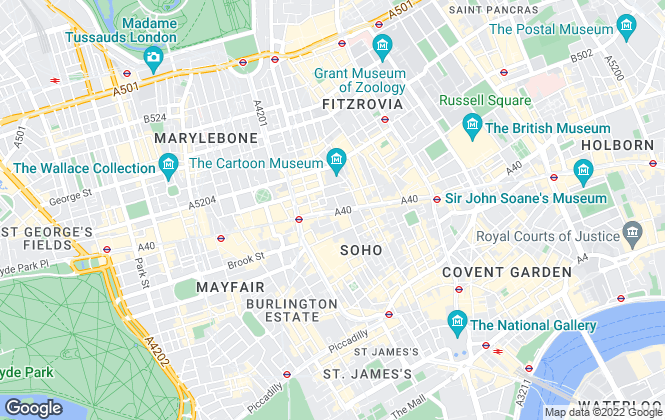 Map for Hamptons International New Homes, London D & I