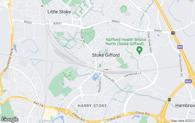 Map for Allen & Harris, Stoke Gifford
