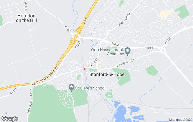 Map for Just Move Homes, Stanford-Le-Hope