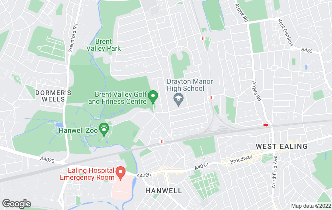 Map for Tuffin & Wren, Hanwell