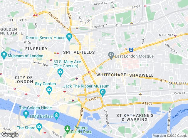 Map for KKB Property & Financial Services, London