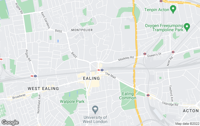 Map for Anglopol, Ealing Broadway