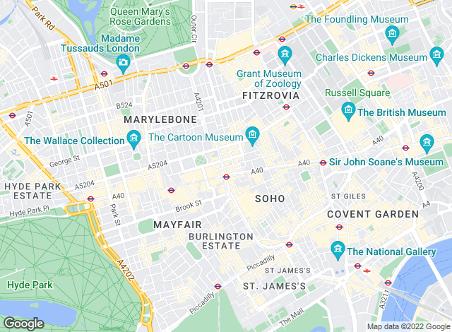 Map for Forbes Lettings, London