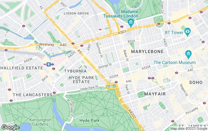Map for J.E.P Close & Co, London
