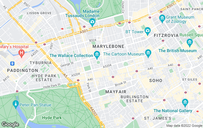 Map for Atlas Residential Solutions Management UK Limited , London