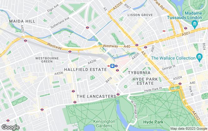 Map for Homelike, Paddington