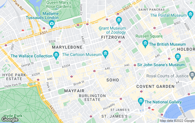 Map for BCE Commercial Limited, London
