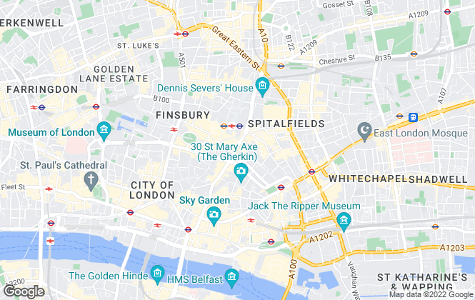Map for Urban and Campus Nest Ltd, London