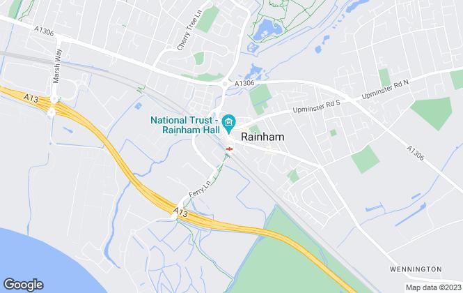 Map for Century 21, Rainham