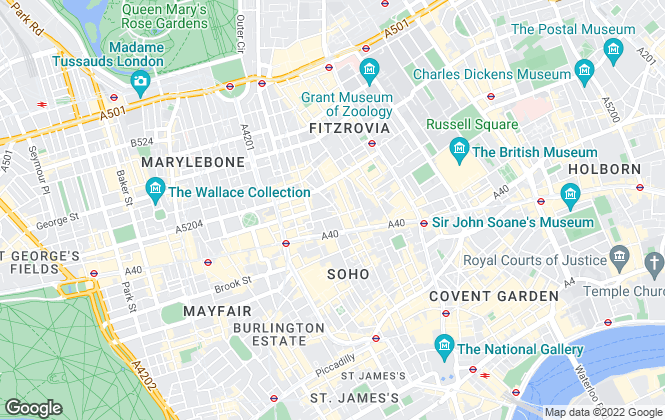 Map for Procomexp Limited, London