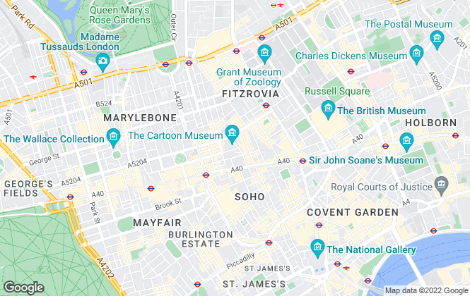 Map for Davis Brown, London