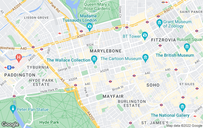Map for Mcglashans Property Services, London