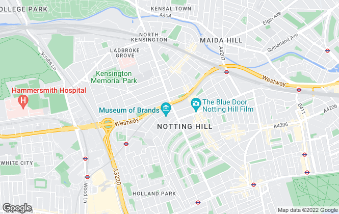 Map for Winkworth, North Kensington