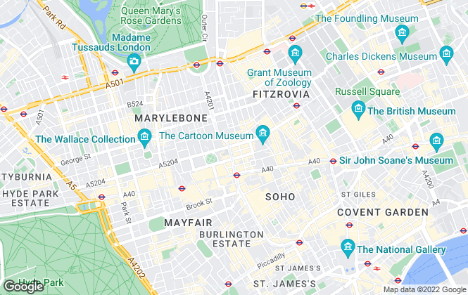 Map for Huxley Estates Limited, London