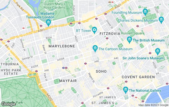 Map for UpperKey, London