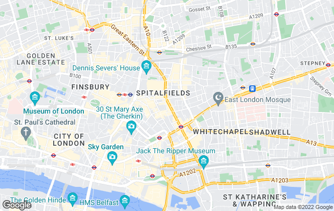 Map for Anchor Properties, London