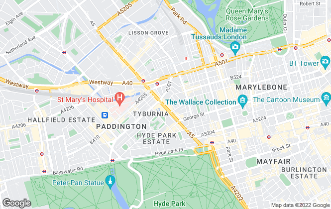 Map for Copperstones Ltd, London