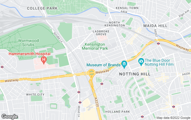 Map for Rigby And Marchant, North Kensington