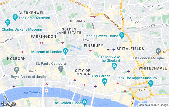 Map for London Property Group, London