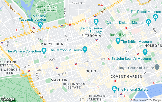 Map for Complete Moves Sales, London