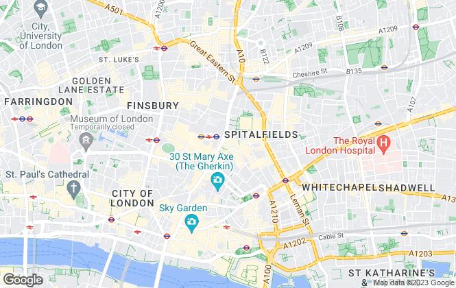 Map for Thames Lettings Ltd, London
