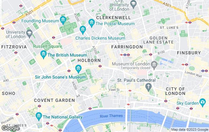 Map for SMARTHOST Group Ltd, London