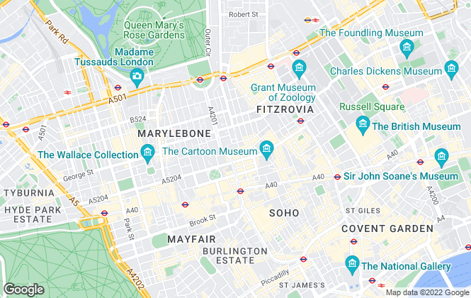 Map for Venture Property Sales, London