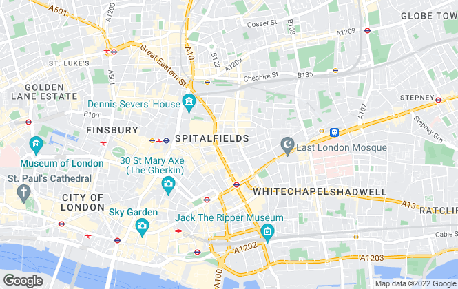 Map for View Properties, London