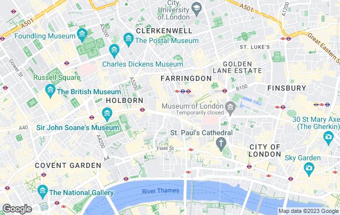 Map for Berkeley Way, London