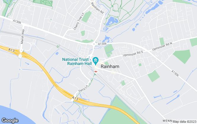 Map for Smart Move, Rainham