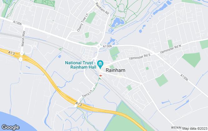 Map for Bairstow Eves, Rainham