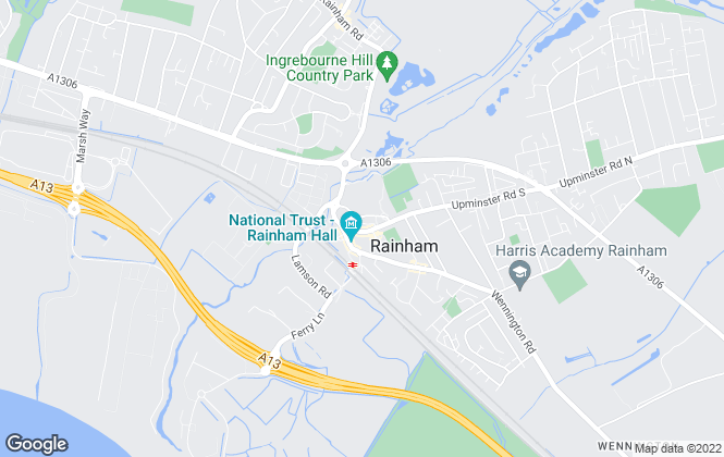 Map for Smart Move, Rainham