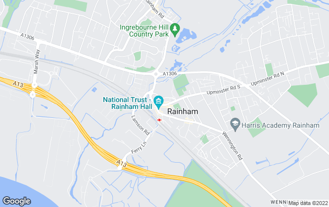 Map for Bairstow Eves, Rainham