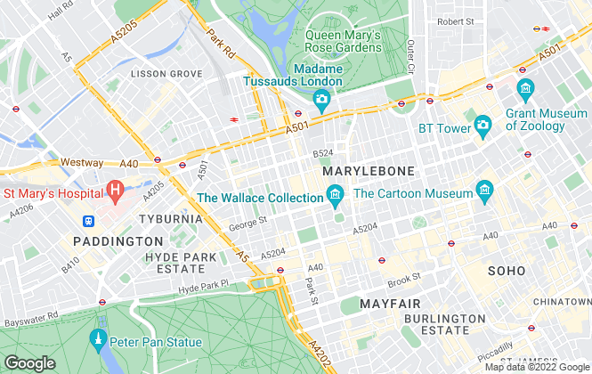 Map for Knight Frank - New Homes, London