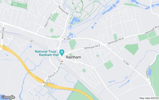 Map for Abbey Estate Agents, Rainham