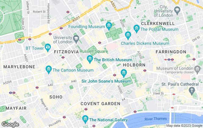Map for De Villiers Commercial , London