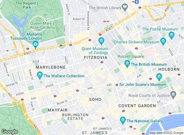 Map for Coopers Of London, London