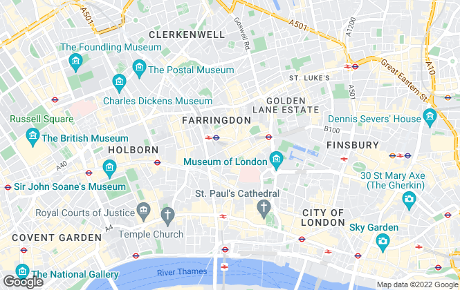 Map for Homesorted, London