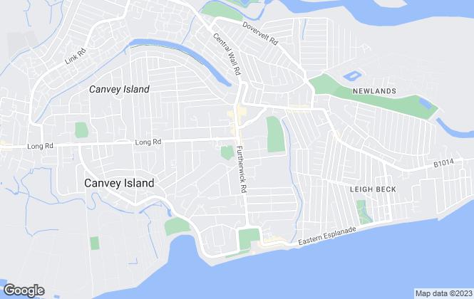 Map for Premier Estates, Canvey Island