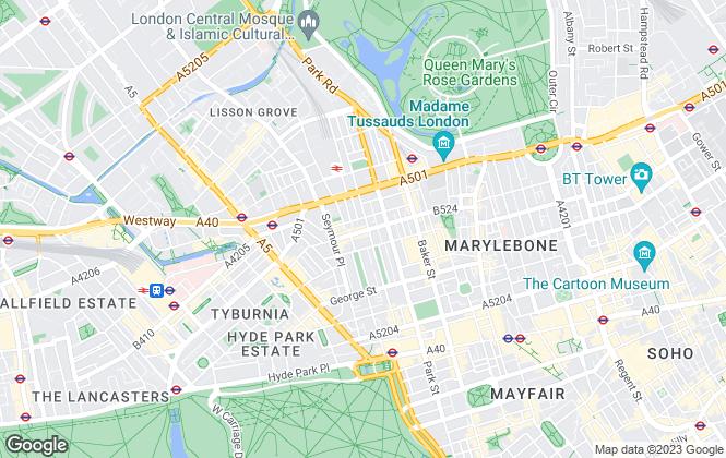 Map for RE/MAX Diamond, Marlyebone