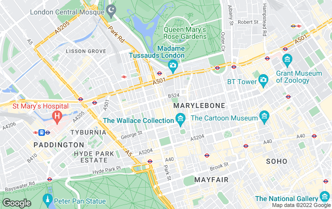 Map for Rokstone, London